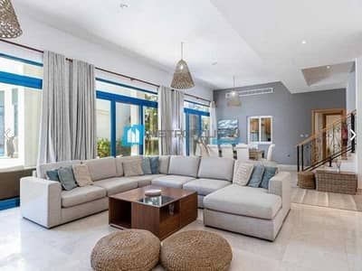 4 Bedroom Townhouse for Sale in Palm Jumeirah, Dubai - Fully Furnished I Pool View I Ready to move in