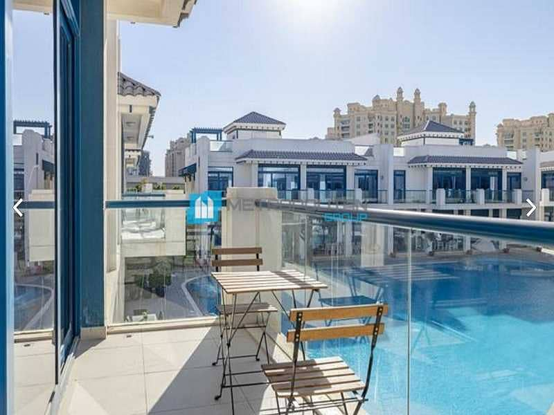 2 Fully Furnished I Pool View I Ready to move in