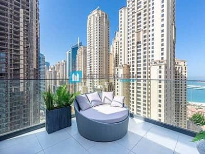 3 Bedroom Penthouse for Sale in Dubai Marina, Dubai - Sea View I Brand new I Superb Interior I Call Now
