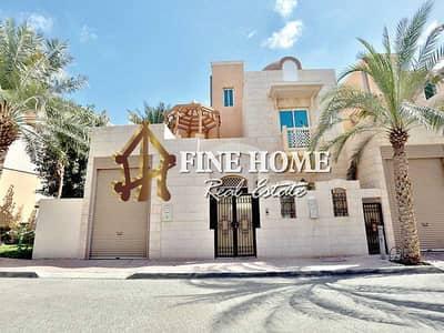 فیلا 5 غرف نوم للبيع في المشرف، أبوظبي - For Sale Villa | 5 Master rooms | Terrace| Maid's |
