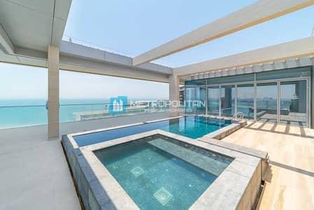 بنتهاوس 5 غرف نوم للايجار في جزيرة بلوواترز، دبي - Full sea view Duplex Penthouse W/Pool and Jacuzzi