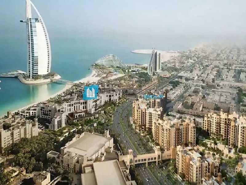 Burj and Garden View | Luxury Penthouse | Elegant
