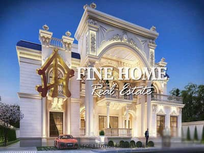 فیلا 9 غرف نوم للبيع في مدينة بوابة أبوظبي (اوفيسرز سيتي)، أبوظبي - Villa | 9 Bedrooms | Sauna & Gym | Lift