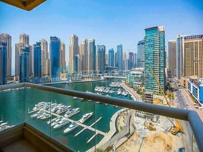 2 Bedroom Apartment for Sale in Dubai Marina, Dubai - RARE  DEAL I RIGHT ON WATER I MARINA VIEW I VACANT