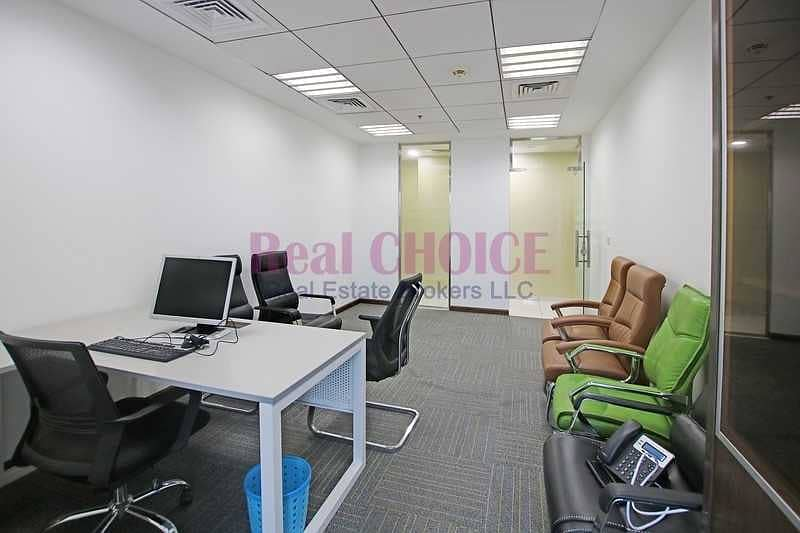 20 High Quality Fully Furnished Office Prime Location