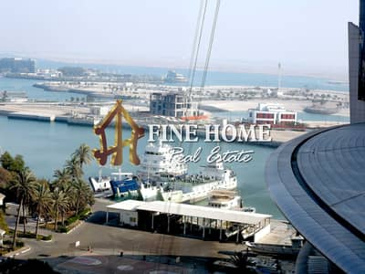 2 Bedroom Apartment for Rent in Corniche Road, Abu Dhabi - No Commission & Sea View   2BR with Close Kitchen