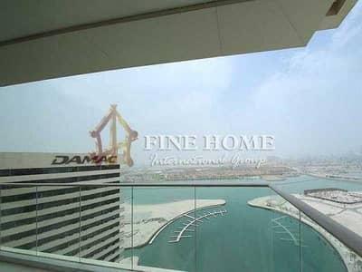 3 Bedroom Flat for Sale in Al Reem Island, Abu Dhabi - Superb 3BR+MR w Balcony facing the Calming Sea