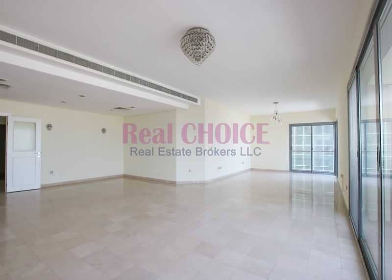 Amazing 3BR Plus Maids Room Payable in 4 Cheques