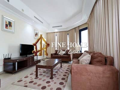 1 Bedroom Apartment for Rent in Tourist Club Area (TCA), Abu Dhabi - Move Now To Fully Furnished Apartment w Balcony