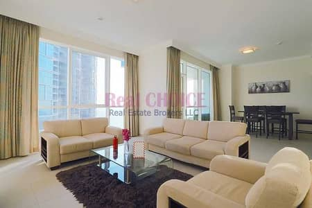 2 Bedroom Flat for Sale in Jumeirah Beach Residence (JBR), Dubai - High Floor|2BR+Maid Fully Furnished Apartment