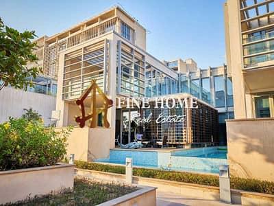 5 Bedroom Villa for Sale in Al Raha Beach, Abu Dhabi - Luxury villa with sea view close to beach