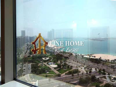 فلیٹ 5 غرف نوم للايجار في الحصن، أبوظبي - For Rent I Full Sea View I 4br +M + Parking+ Pool