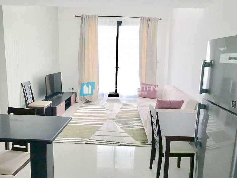 Fully Furnished | High Floor | Partial Marina View