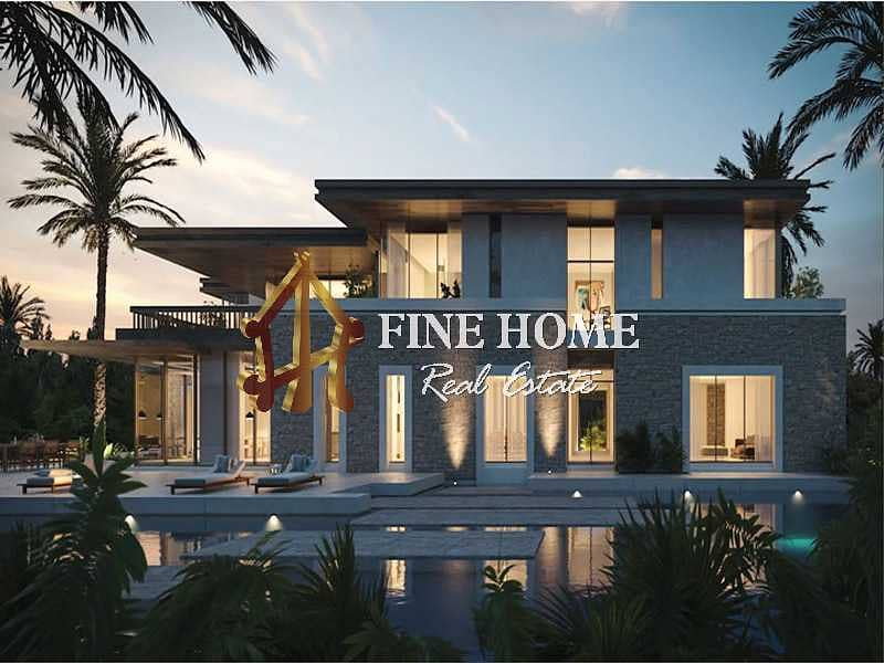 Royal Luxury 7BR Villa With 5% DP I 0 Commission