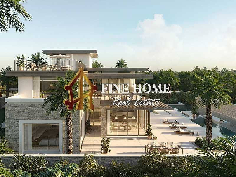 2 Royal Luxury 7BR Villa With 5% DP I 0 Commission