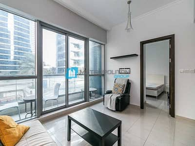 شقة 1 غرفة نوم للبيع في دبي مارينا، دبي - Pool View I Rented I Low Floor I Exclusive