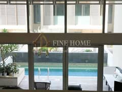 Fully Furnished 5BR. villa With Private Pool