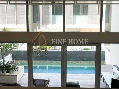 فیلا 5 غرف نوم للبيع في شاطئ الراحة، أبوظبي - Fully Furnished 5BR. villa With Private Pool