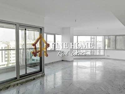 فلیٹ 4 غرف نوم للايجار في الخالدية، أبوظبي - For Rent I Glamorous 4BR w/ big close kitchen