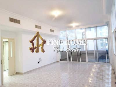 3 Bedroom Flat for Rent in Al Khalidiyah, Abu Dhabi - Outstanding 3BR with Maids Rm & Closed Kitchen