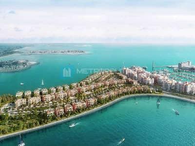 تاون هاوس 4 غرف نوم للبيع في جميرا، دبي - Front Row | Water Facing | Exclusive and unique TH