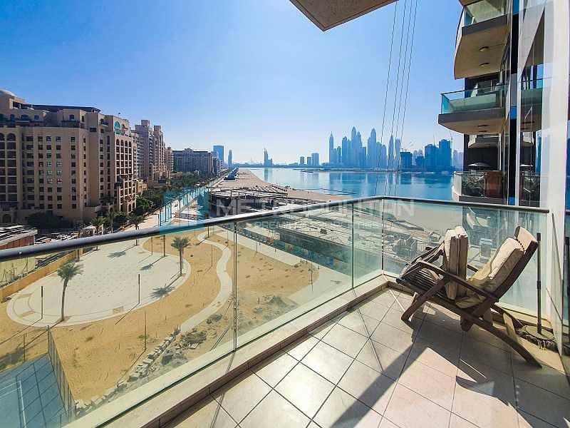 11 Spacious |Stunning Marina and Sea view | Mid floor