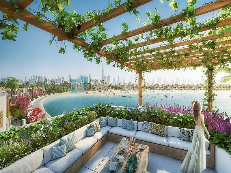 15 Dubai Skyline and Sea View|Very Limited and Unique