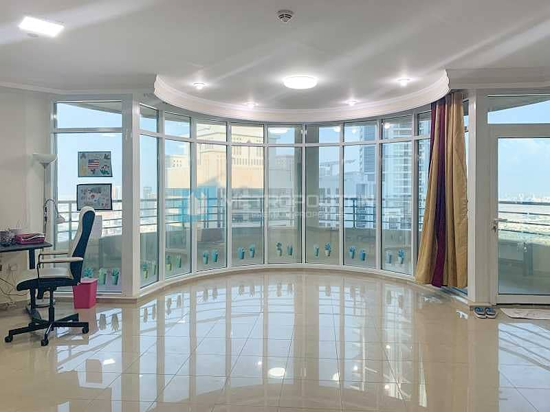Large Layout |Splendid Sea and Golf Course View