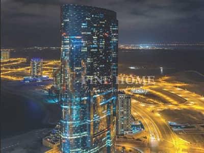 1 Bedroom Apartment for Sale in Al Reem Island, Abu Dhabi - High floor 1 Bedroom Apartment in Sky Tower