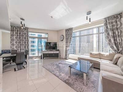 فلیٹ 1 غرفة نوم للبيع في دبي مارينا، دبي - Marina View | Fully Furnished | Well Maintained
