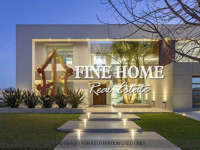 فیلا 8 غرف نوم للبيع في هضبة الزعفرانة، أبوظبي - Villa for sale    7 Studios   Apartment I BR  