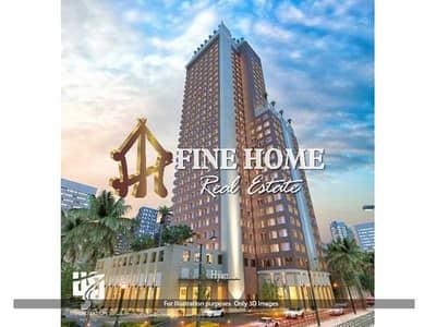 مبنی تجاري  للبيع في منطقة النادي السياحي، أبوظبي - Corner Building   13 Floors   15 Shops   80 Apt