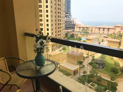 1 Bedroom Apartment for Sale in Jumeirah Beach Residence (JBR), Dubai - Perfect 1 BED / Fully Furnished / Designer Finish!
