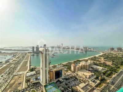 4 Bedroom Flat for Rent in Dubai Marina, Dubai - Sea & Palm view / Unfurnished / Vacant / Rare unit