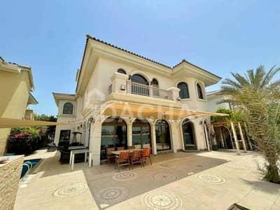 فیلا 5 غرف نوم للايجار في نخلة جميرا، دبي - Furnished Or Unfurnished / High No / Atrium Entry