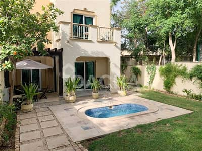 فیلا 3 غرف نوم للايجار في الينابيع، دبي - 03 July / Private Pool / Backing Pool and Park