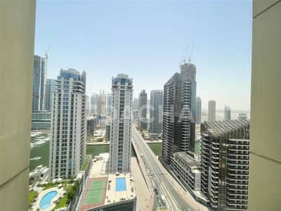2 Bedroom Flat for Rent in Jumeirah Beach Residence (JBR), Dubai - Marina & Sea View / Fully Furnished / Vacant