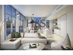 شقة في سانرايز باي إعمار الواجهة المائية دبي هاربور 1 غرف 1680000 درهم - 5111341