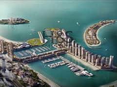 شقة في بيتش فيستا إعمار الواجهة المائية دبي هاربور 2 غرف 2800000 درهم - 4804568