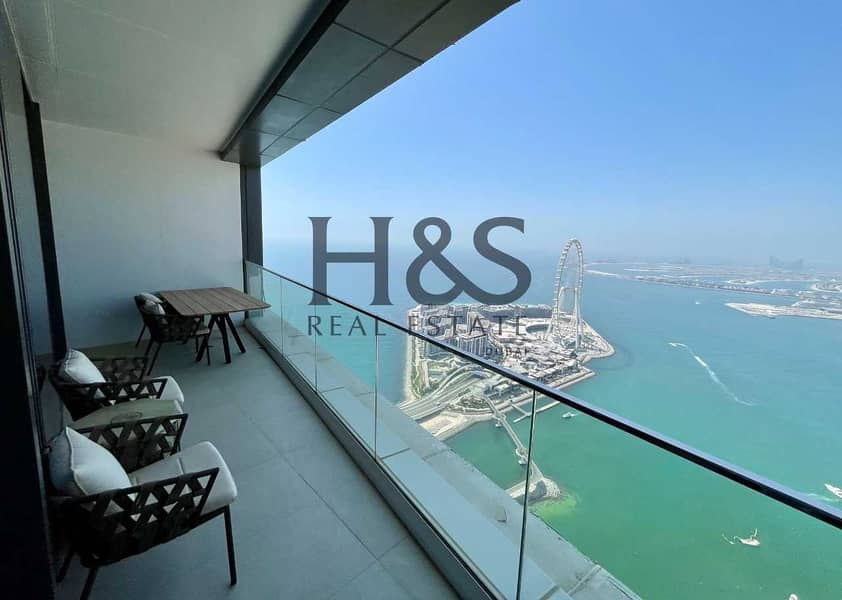 Full Sea View   Fully Furnished Apt   High Floor