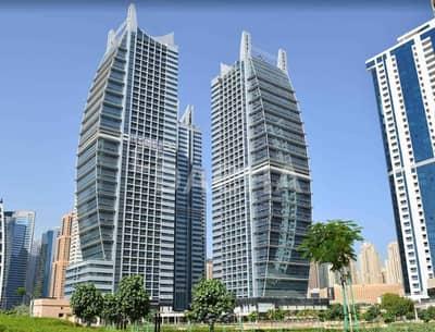 مکتب  للايجار في أبراج بحيرات الجميرا، دبي - Fitted office / Chiller free / Open plan
