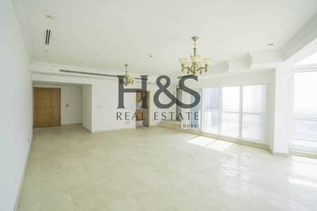 شقة 3 غرف نوم للبيع في دبي مارينا، دبي - Vacant 3 Beds + Maid's Room I Sea & Marina View