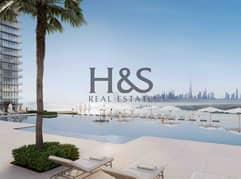 شقة في العنوان هاربر بوينت خور دبي مرسى خور دبي ذا لاجونز 1 غرف 2027888 درهم - 5227298