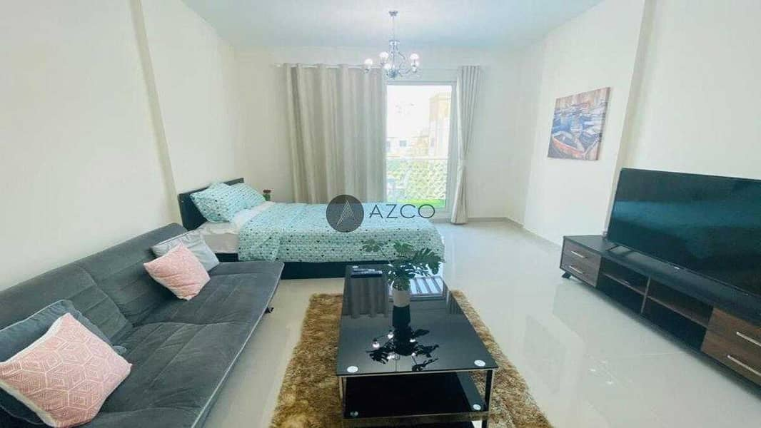 Fully Furnished   Bright Interiors   Pool view