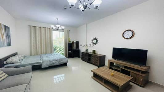 Studio for Rent in Jumeirah Village Circle (JVC), Dubai - Fully Furnished | Huge balcony | Pool view