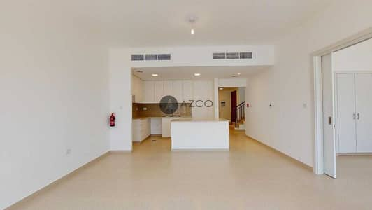 4 Bedroom Townhouse for Rent in Town Square, Dubai - Corner unit | Type 3 | Green belt view | 4BR TH