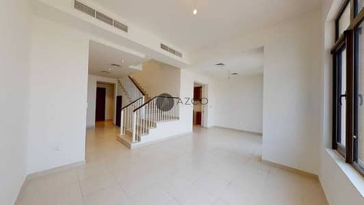 3 Bedroom Townhouse for Rent in Reem, Dubai - Type J  Single Row   Study room   Near to Pool