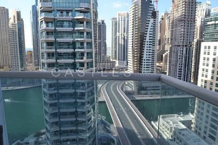 2 Bedroom Flat for Sale in Dubai Marina, Dubai - Full Panoramic Marina View - Mid Floor - Vacant