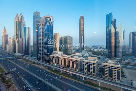 3 Bedroom Hotel Apartment for Rent in Sheikh Zayed Road, Dubai - CHILLER FREE | PRIME LOCATION | SEA VIEW