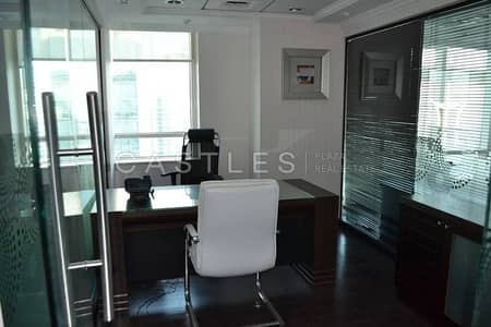Floor for Sale in Jumeirah Lake Towers (JLT), Dubai - Full Floor - Fully Fitted - Vacant